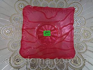 Салатник пластик 14х14