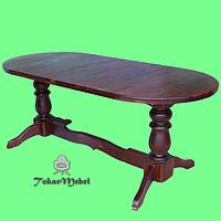 Стол из дерева для дома Аврора, 120х75