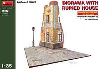 MA36012 Diorama with ruined house