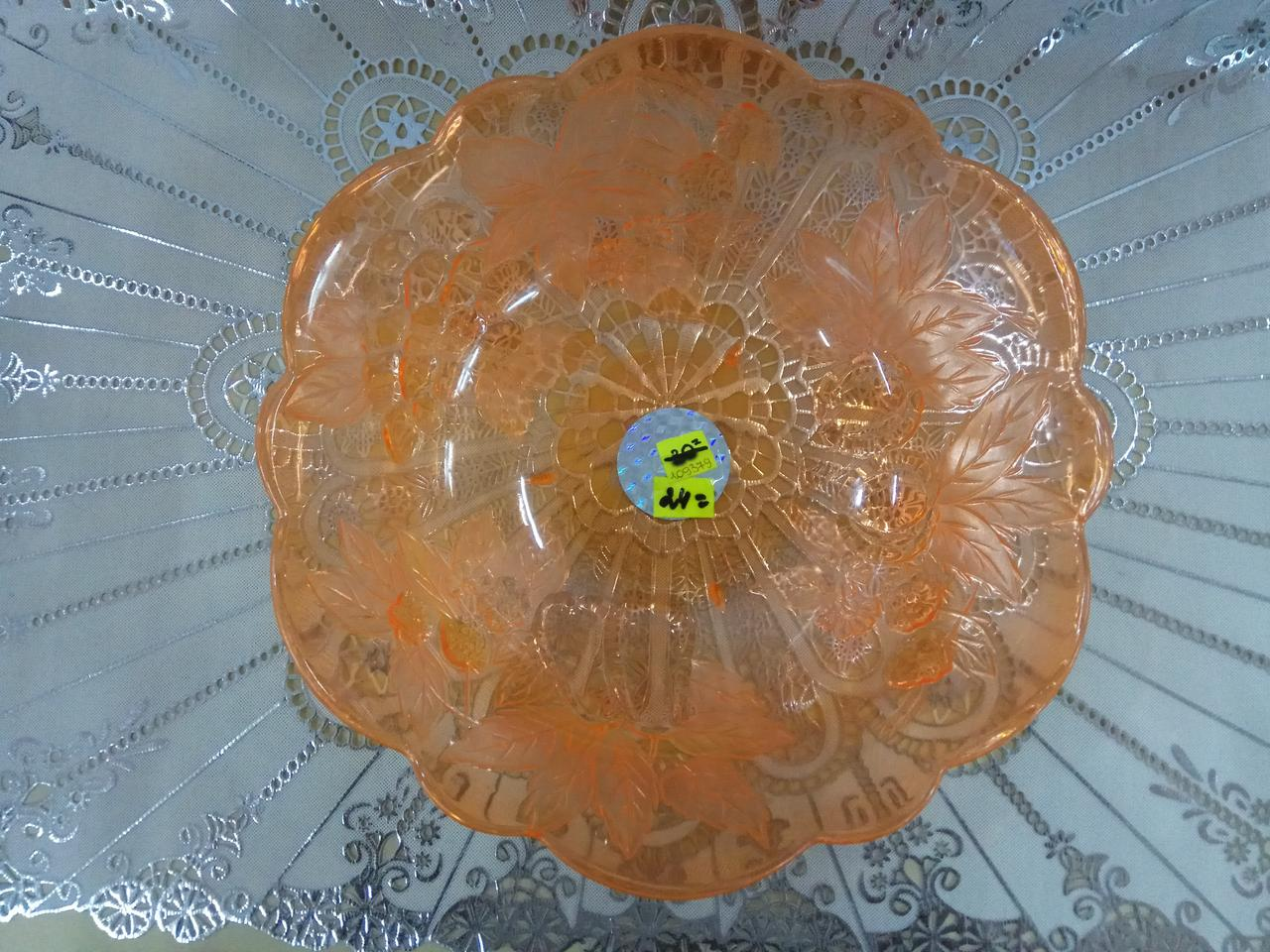 Салатник пластиковый однотоный