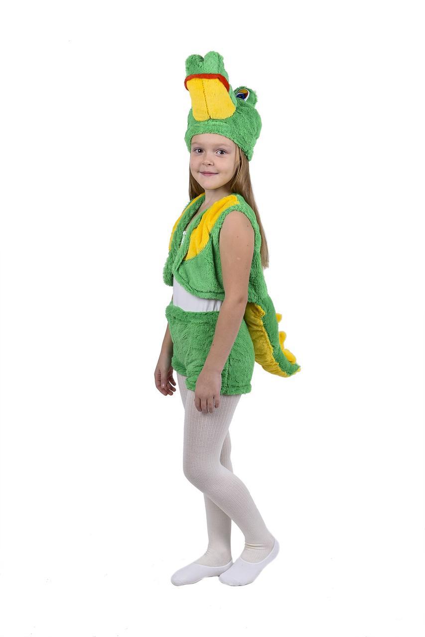 Карнавальный костюм Крокодила меховой (3-7 лет)