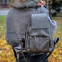 Пошив рюкзака с карманами из натуральной кожи в любом цвете. Рюкзак 91969