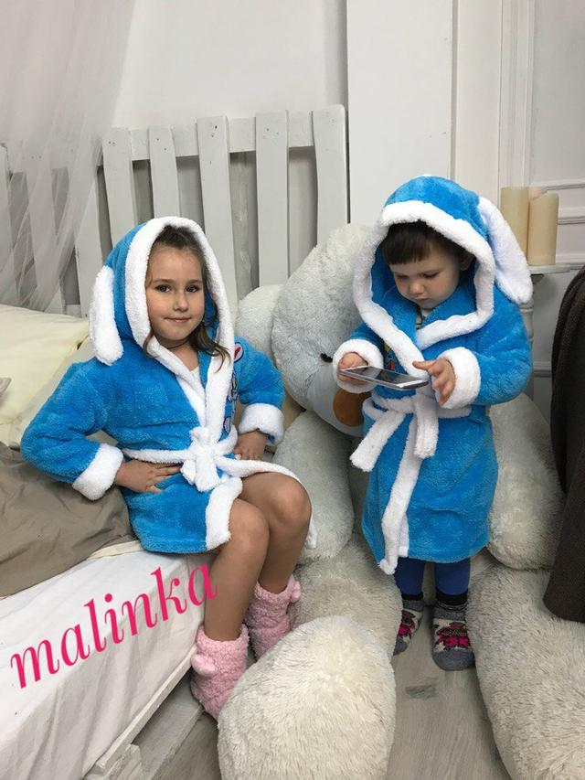 детский домашний халат