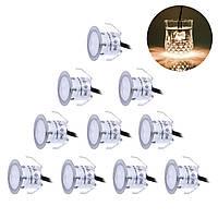 Светодиодные водонипроницаемые лампочки фонарики SkyGenius (10шт/компл.)