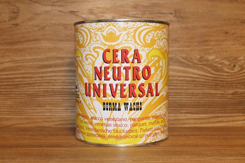 Воск самополирующийся, Cera Universal, 1 литр, Borma Wachs