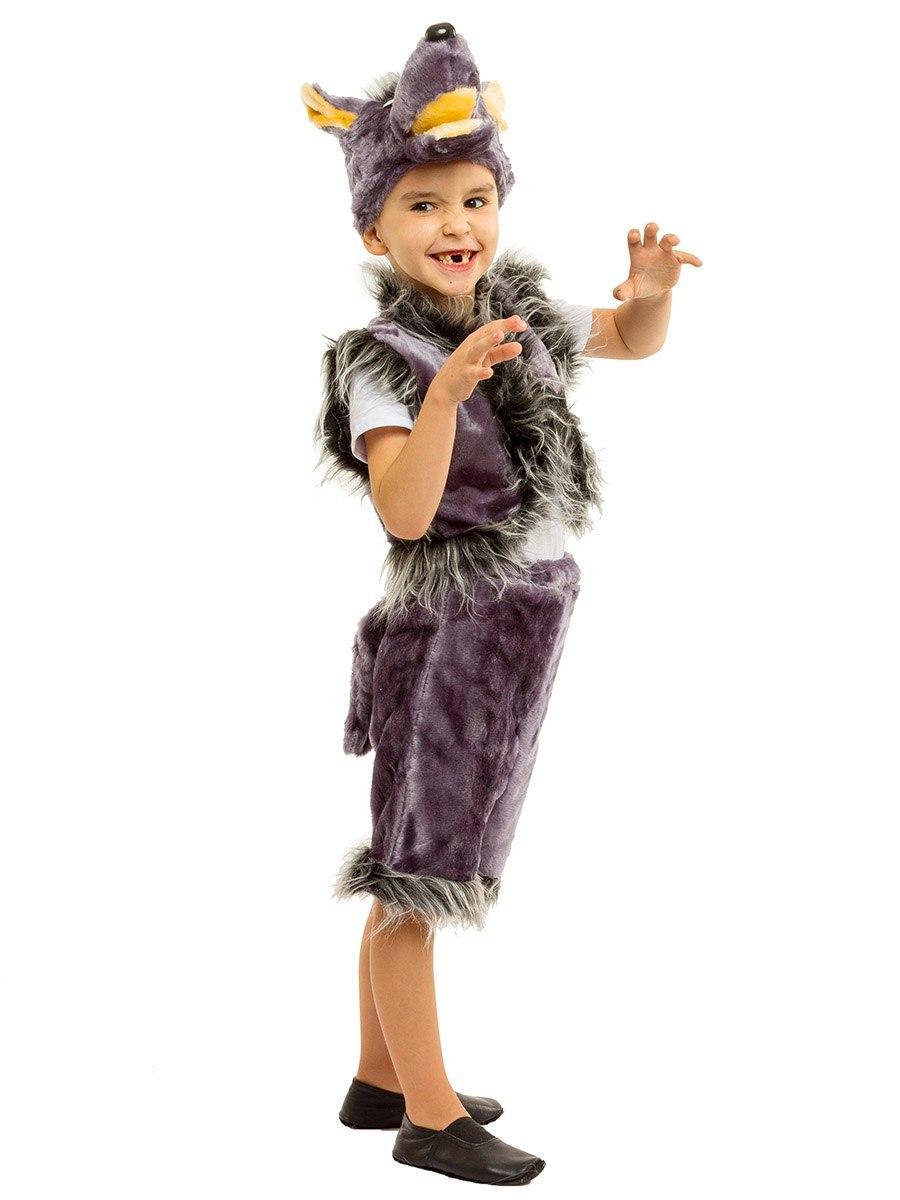 Карнавальный костюм Волка меховой (3-7 лет)