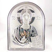 Икона Иисус Христос на деревянной основе