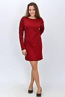 Красивое женское трикотажное платье летучая мышь  размер 34, 36, 38, 40, 42.