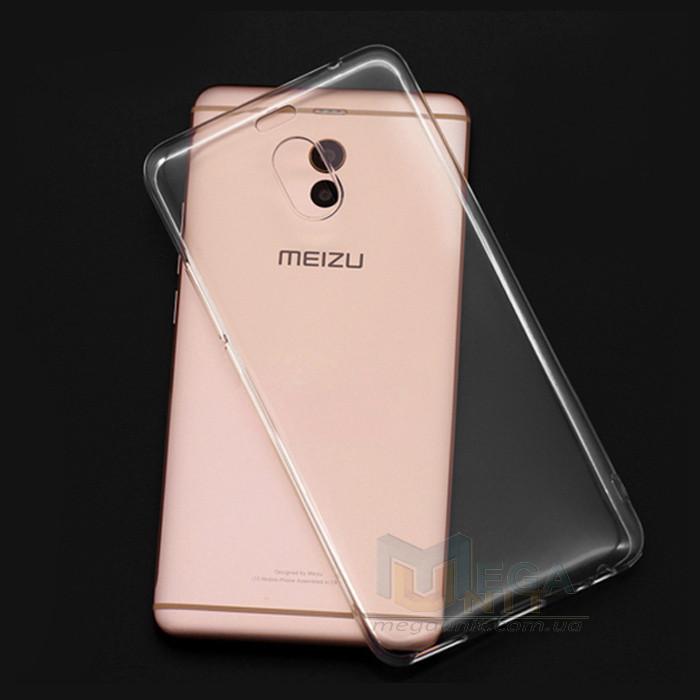 Прозорий силіконовий чохол для Meizu M6 Note