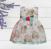 Платье для девочек на 9,12,24 месяца, Турция , фото 1