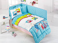 Набор в кроватку для младенцев Kristal Дисней - Baby Bebis голубой