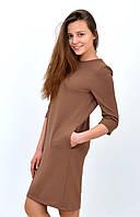 Красивое женское трикотажное платье с карманами размер 34, 36, 38, 40, 42.