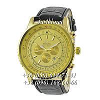 Часы Breitling Navitimer 01 Black-Gold-Gold