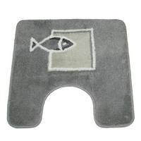 Коврик д/ванной polyester ANDROS  50х50 серый