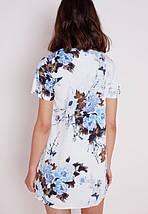 Цветочное прямое платье Missguided, фото 2