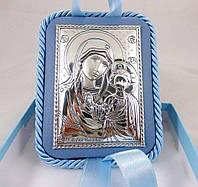 Икона Казанская на подушечке