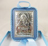 Икона Почаевская на подушечке