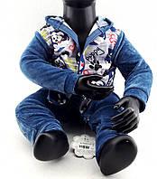 Детский костюм велюровый 1, 2, 3 года Турция