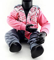 Детский костюм 1, 2, 3 года Турция с начесом на байке