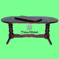 Деревянный стол для ресторана раскладной Аврора, 180х80