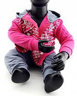 Детский костюм 2, 3 года Турция с начесом на байке