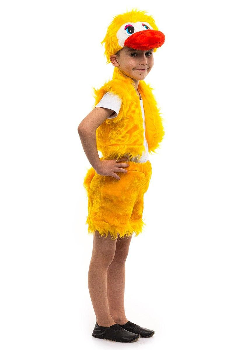 Карнавальный костюм Утенка Утенок меховой (3-7 лет)