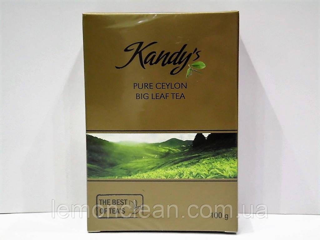 Чай черный Kandy's big leaf tea 100г
