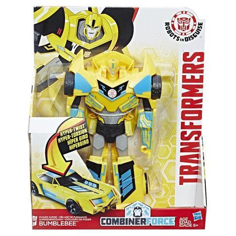 Трансформер Бамблби под прикрытием Transformers: RID Combiner Force 8 inch Action Figure  Changer Power Surge