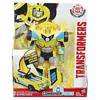 Трансформер Бамблби под прикрытием Transformers: RID Combiner Force 8 inch Action Figure  Changer Power Surge