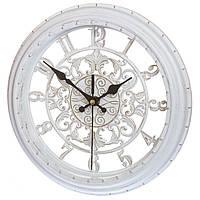 Красивые настенные часы White (28 см.)