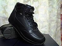 Стильные мужские зимние ботинки под кроссовки  Bertoni, фото 1