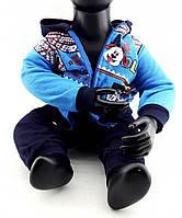 Детский костюм 3 года Турция с начесом на байке