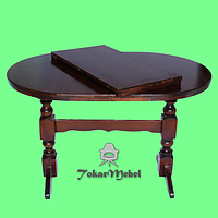 Деревянный стол раскладной под заказ, 160х80