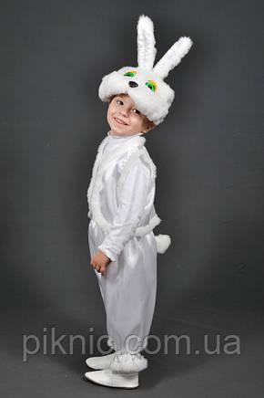 Детский карнавальный костюм Зайчик 2,3,4 лет. Маскарадный костюм Заец Заяц Заєць для детей, фото 2