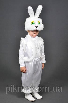 Детский костюм Зайчик 2,3,4 лет. Карнавальный костюм Заец Заяц Заєць для детей, фото 2