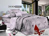 Комплект постельного белья из сатина семейный S-094