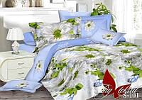 Комплект постельного белья из сатина семейный S-101