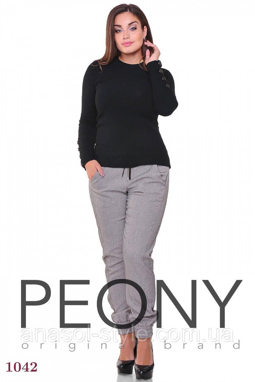 Женские брюки Берлингтон (50 размер, бежевый) ТМ «PEONY»