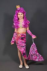 Костюм Русалочка 5-11 лет Детский новогодний карнавальный костюм Русалка для девочки. Без парика 344, фото 2