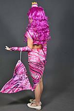 Дитячий карнавальний костюм Русалонька для дівчинки 5-11 років  Костюм Русалка без перуки 344, фото 3