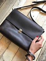 Кожаная сумка - портфель ручной работы №3