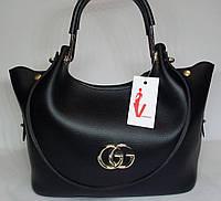 """Женская сумка """"VENESSA"""" черного цвета"""