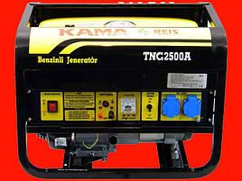 Бензиновый генератор на 2 кВт KAMA TNG2500A