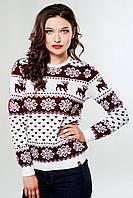 Модный женский вязаный свитер «Волшебство»