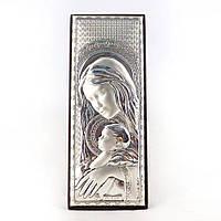 Образ Святая Мария с Иисусом на деревянной основе