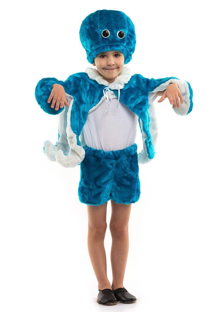 Детский карнавальный костюм Осьминога меховой (3-7 лет)