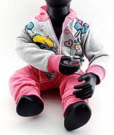Детский костюм 1 года Турция с начесом на байке