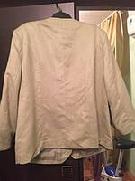 Пиджак летний хлопок размер 58