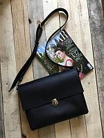 Кожаная сумка - портфель ручной работы №4