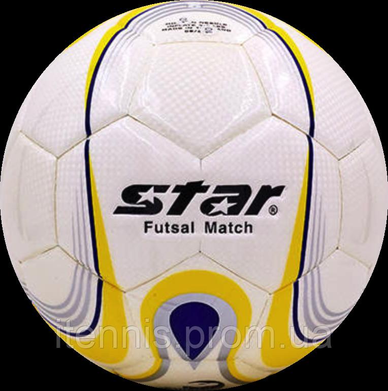 Футзальный мяч Star №4 PU-клееный.